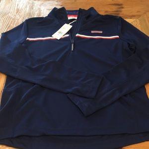 NEW Women's Vineyard Vines 1/4 Zip  Tennis Jacket
